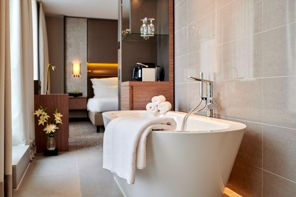 Toallas de baño de hotel de lujo Hanse, juego de 2